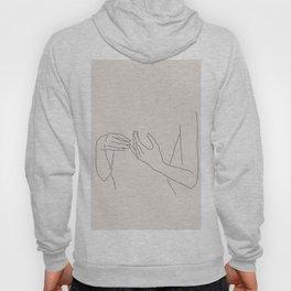 Abstract Line Art Hoody