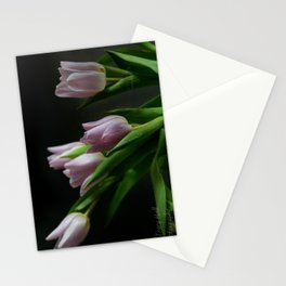 Low Light Tulips Stationery Cards