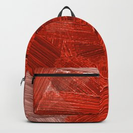 46  | Abstract Expressionism| 210210| Digital Abstract Art Textured Oil Painting Backpack