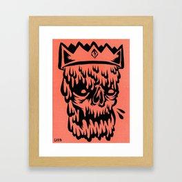 king drippy Framed Art Print