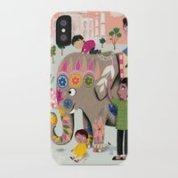 india iPhone & iPod Cases featuring India by ilana exelby