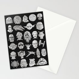 The force is strong Stationery Cards