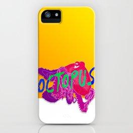 Octupus iPhone Case