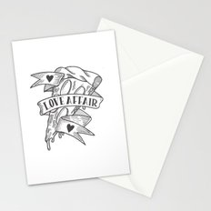 PIZZA LOVE AFFAIR Stationery Cards