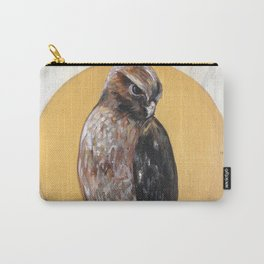 Hawk Vision // Bird Raptor Eagle Feather Wing Sun Spirit Animal Carry-All Pouch