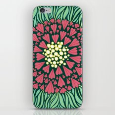 Pink Floral iPhone & iPod Skin