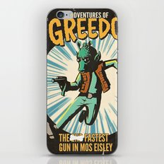 Greedo Vintage Comic Cover iPhone & iPod Skin