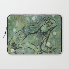 The Magical Frog Laptop Sleeve