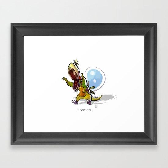Dewchops Framed Art Print