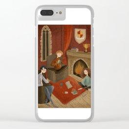 Gryffindor Clear iPhone Case
