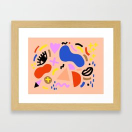 Blobby no. 1 Framed Art Print