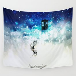 Beyond the clouds | Doctor Who Wall Tapestry