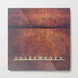 VW Rust Metal Print