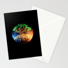 Astral Oak Stationery Cards
