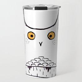 Squarish Owl Travel Mug