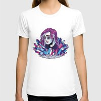 crystals T-shirts featuring Crystals by Wooden Doe