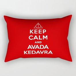 Keep calm and Avada Kedavra Rectangular Pillow