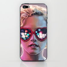 Electrick Girl iPhone & iPod Skin