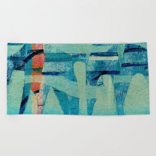 Water Polo Beach Towel