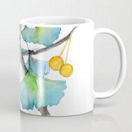 Ginkgo and A Snail Coffee Mug