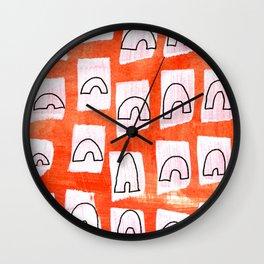 Hopscotch Wall Clock