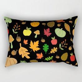 Autumn Design Rectangular Pillow