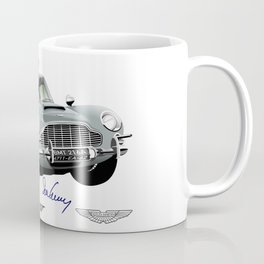 Aston Martin DB5 from Goldfinger Coffee Mug