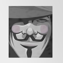 Vendetta Throw Blanket