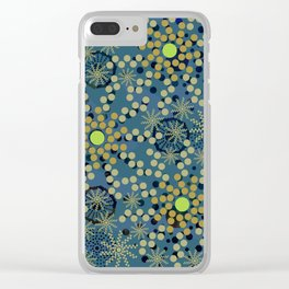 Abstract Mixed Media Series Sunshine 19 Clear iPhone Case