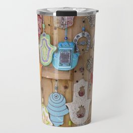 Hamsa lucky charms Travel Mug