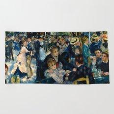 Renoir - Dance at Le Moulin de la Galette Beach Towel
