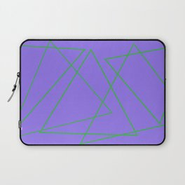 Purple & Green Laptop Sleeve