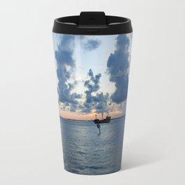 Sailing Clouds Travel Mug