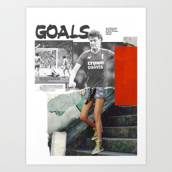 Football Fashion #16 Art Print