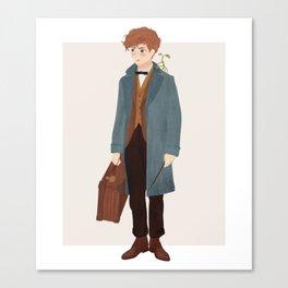Newt Scamander Canvas Print