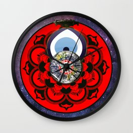 Mercury Masher Wall Clock