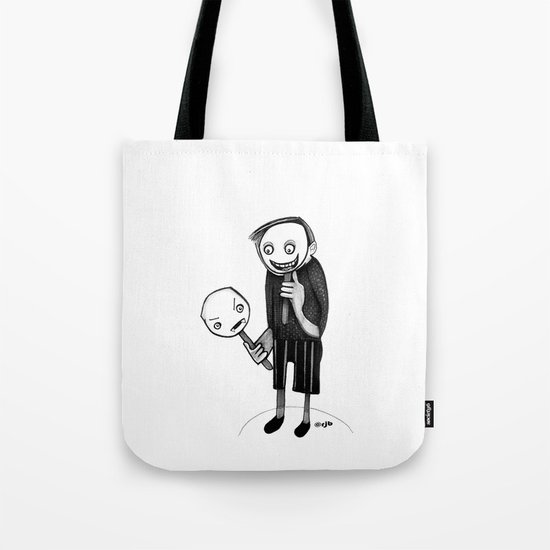 2 faced Tote Bag