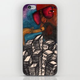 Sax and the City iPhone Skin