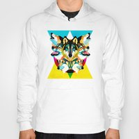 wolves Hoodies featuring wolves by Alvaro Tapia Hidalgo