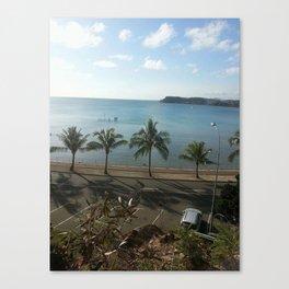 A beach in Noumea Canvas Print