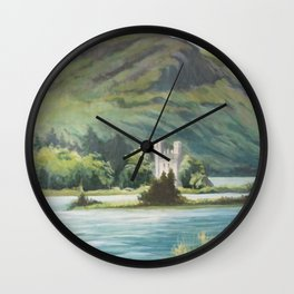 Castle in the Glen Wall Clock