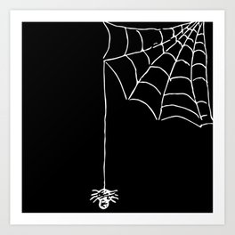 something webby this way comes Art Print