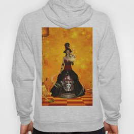 Fantasy women with carousel and horses Hoody