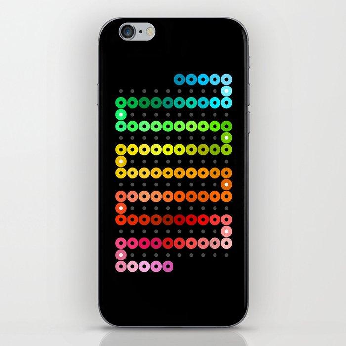 Rainbow Chain iPhone Skin