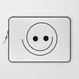 Silly Smiley Face Laptop Sleeve