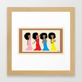 Divine Ladies Framed Art Print