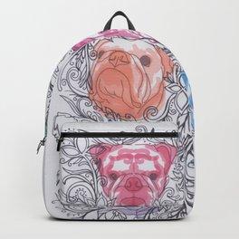 Bulldog F L O R A L S Backpack