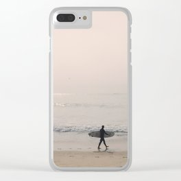 Portugal Beach Clear iPhone Case