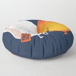 Friendly Fire Floor Pillow