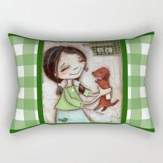 OK - by Diane Duda Rectangular Pillow